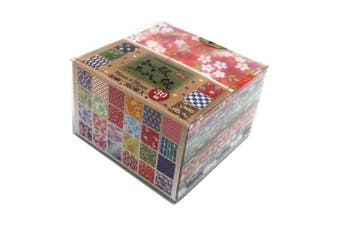 Aitoh Origami Paper 7.6cm x 7.6cm 360 Sheets-Assorted Colours