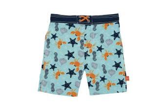 (18 Months, Star Fish) - Lassig Board Shorts, Star Fish, 18 Months