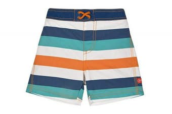 (18 Months, Multistripe) - Lassig Board Shorts, Multistripe, 18 Months