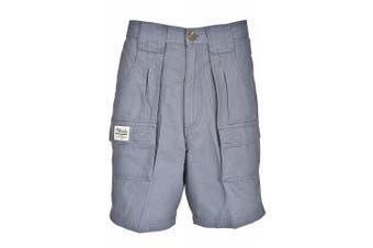 (42, Blue) - Bimini Bay Outfitters Men's Outback Hiker Cotton Cargo Short