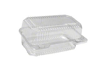 Loaf Deep Hinge Container, 6 ct.