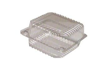 13cm Medium Square Hinge Container, 25 ct.