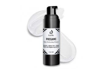 BaeBlu Pregame Skin Perfecting Primer, 100% Vegan, Silicone-Free, Gluten-Free and Made in USA with Natural and Organic Ingredients