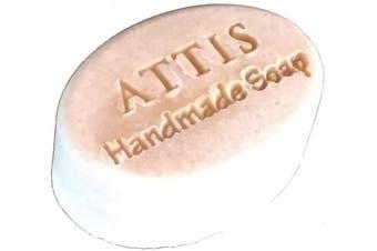 ATTIS Handmade Silk Herbal Marshmallow Conditioning Shampoo Bar | with Shea Butter | Eucalyptus Essential Oil | Rhassoul Clay | Sulphate Free | Aloe Vera gel | For Men & Women | Vegan