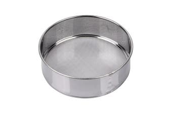 (60 Mesh) - AMPSEVEN Tamis Fine Mesh Flour Sieve 60 Stainless Steel Round Sifter for Baking(15cm , 60m Mesh)