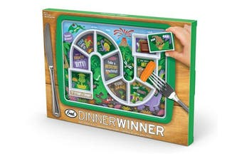 Fred & Friends 5202956 Fred Winner Kid's Dinner Tray, Dino Time, 30 x 21.2 x 2.5 cm