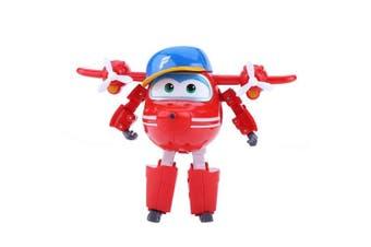 (#2) - Dilwe Transforming Robot Toy, Mini Transforming Robot Aeroplane Animation Action Figure Plane Toy for Kids Children (#2)