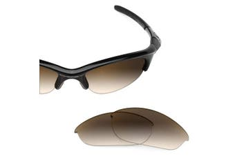 (Brown Gradient - Non-Polarized) - Revant Replacement Lenses for Oakley Half Jacket