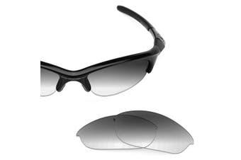 (Grey Gradient - Non-Polarized) - Revant Replacement Lenses for Oakley Half Jacket