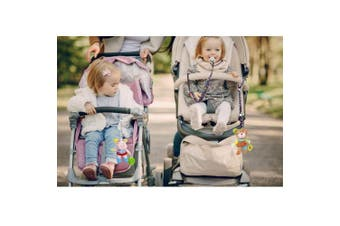 (8 Pcs) - Baby Toys Strap Bottle Strap Protable PP Anti Drop Toys Adjustable Strap Clip Belt Holders (8 Pcs)