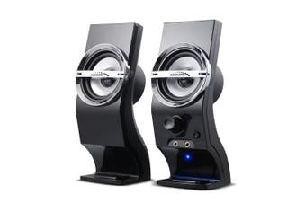Audiocore AC805 Stereo Speakers 2.0 PC 6W Black