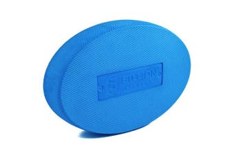 (Oval-Small, Blue-Small) - 5BILLION Balance Pad & Balance Board - Gym Exercise Mat & Foam Balance Trainer - Wobble Cushion for Physical Therapy and Core Balance