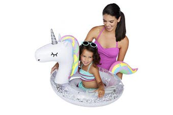 Big Mouth Toys BMLF-0009-EU Big Mouth Lil' Float Unicorn, Multi Colour