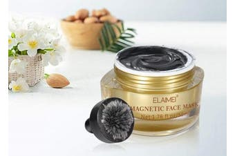 Magnetic Face Mask Mineral-Rich Magnet Mask with Magnet Pore Cleansing Removes Skin Impurities 50ml