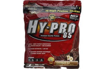 (Chocolate-Nut) - All Stars HY-PRO 500 g Chocolate-Nut 85 Protein - Pack of 1
