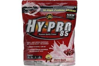 (Cherry) - All Stars HY-PRO 500 g Cherry-Quark 85 Protein - Pack of 1