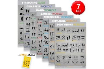 """Alpine Fitness 7 Exercise & Fitness Posters 