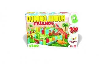 Goliath Junior Friends Deluxe Domino Game, Multicolor