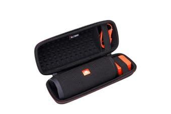 (Design 4) - LTGEM Hard Carrying Case for JBL Flip 3 4 Waterproof Portable Bluetooth Speaker