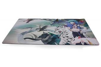YuGiOh GX Crystal Beast Playmat, Custom TCG Playmat, Mouse Pad & Table Mat Size 23.2.2cm x 13.1.3cm