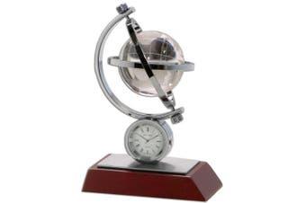 (Multi) - Dacasso Global II Desk Clock (C1017)