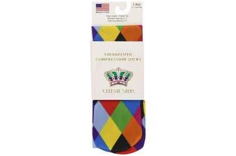 (Mini Harlequin) - Celeste Stein Therapeutic Compression Socks, Mini Harlequin, 8-15 mmhg, .180ml