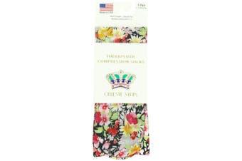 (Raspberry Hill) - Celeste Stein Therapeutic Compression Socks, Raspberry Hill, 8-15 mmhg, .180ml