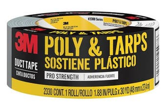 (30 Yards, Poly Hanging and Tarps) - 3M Poly & Tarps Duct Tape, 2330-C, 4.8cm by 30 Yards