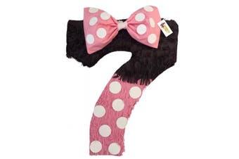 APINATA4U Black & Pink Number Seven Pinata Seventh Birthday