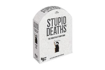 University Games Stupid Deaths Board Game, Multi
