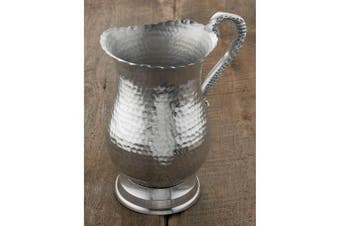 23cm Hammered Aluminium Water Pitcher by KINDWER