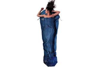 "(95""x35/22"", Leaves) - Cocoon Silk MummyLiner"