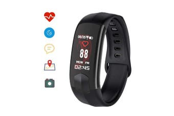 Holidayer Hi11 Fitness Tracker HR, Activity Tracker Watch with Heart Rate Monitor, Waterproof Smart Bracelet with Step Counter, Calorie Counter, Pedometer Watch for Kids Women and Men, Android & iOS