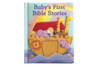 Baby's First Bible Stories: 12 Favorite Stories [Board book]