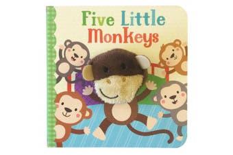 Five Little Monkeys Finger Puppet Book [Board book]