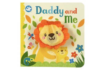 Daddy and Me Finger Puppet Book [Board book]