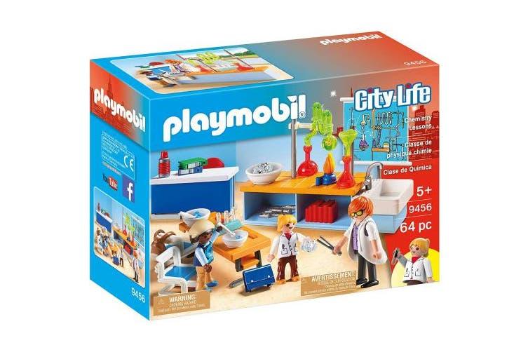 Playmobil 9456 City Life Chemistry Class
