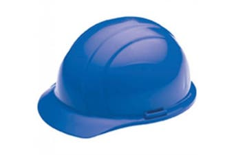 (Blue) - ERB 19766 Americana Cap Style Hard Hat with Slide Lock, Blue