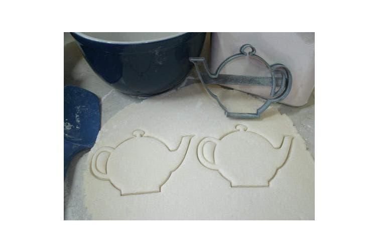 TEA POT KETTLE PORCELAIN ENGLISH BRITAIN CHINA TEA PARTY COOKIE CUTTER FONDANT BAKING TOOL 3D PRINTED USA PR586