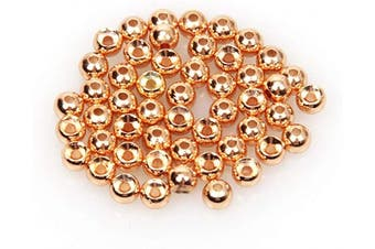(4.65mm, Copper) - ANGLER DREAM Fly Tying Beads 100 PC/LOT Tungsten Beads Nymph Head Ball Fly Tying Materials 4 Colours