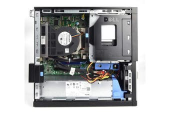 (Core i3-2120, 4GB RAM, 500GB HDD) - Dell OptiPlex 790 SFF Desktop PC - (Black) (Intel Core i3 2100 3.1 GHz Processor, 4 GB RAM, 500 GB HDD, Windows 10 Home)
