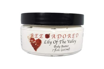 (7 Fluid Ounce, Lily Of The Valley) - Bee Adored Body Butter, Lily Of The Valley, 7 Fluid Ounce