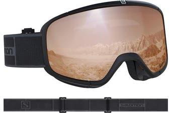 (Uni, Black) - Salomon Four Seven Access Goggles