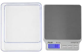 (1) - American Weigh Scales AMW-SC-2KG Digital Pocket Scale New