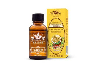 2018 New Plant Lymphatic Drainage Ginger Essential Oils 100% PURE Natural Oil Antiperspirant Body Care 30ML