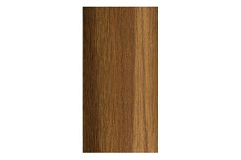 (CHILE NUT) - SELF-ADHESIVE WOOD EFFECT ALUMINIUM DOOR FLOOR BAR EDGE TRIM THRESHOLD PROFILE 930mm x 35mm A08 CHILE NUT