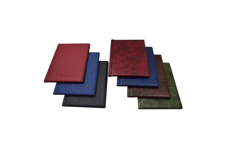 Coin Album for 48 Large Size Coins CROWN 2.3kg Book Folder - BLUE