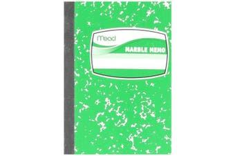 (Each) - Mead Square Deal Memo Book, Narrow Ruled Paper, 80 Sheets, 10cm - 1.3cm x 7.6cm - 0.6cm , Assorted Colours (45417)