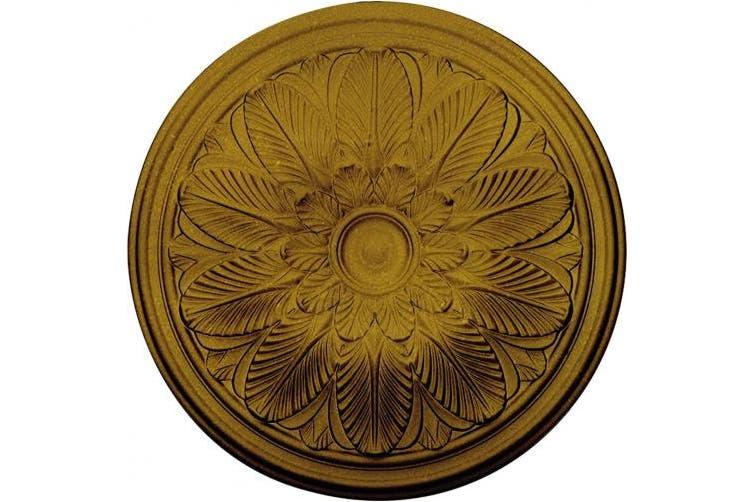 Pharaohs Gold 60cm Od X 4 4cm P Bordeaux Ceiling Medallion Fits Canopies Up To 8 3cm Hand Painted Pharaohs Gold Matt Blatt