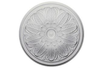 (Primed) - 60cm OD x 4.4cm P Bordeaux Ceiling Medallion (Fits Canopies up to 8.3cm )